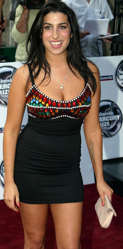 Amy Winehouse - before and after pics