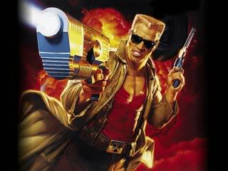 Gunter as Duke Nukem