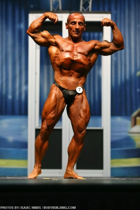 BACCIANINI 50 YRS OLD OLYMPIA COMPETITOR MAKING A COMEBACK
