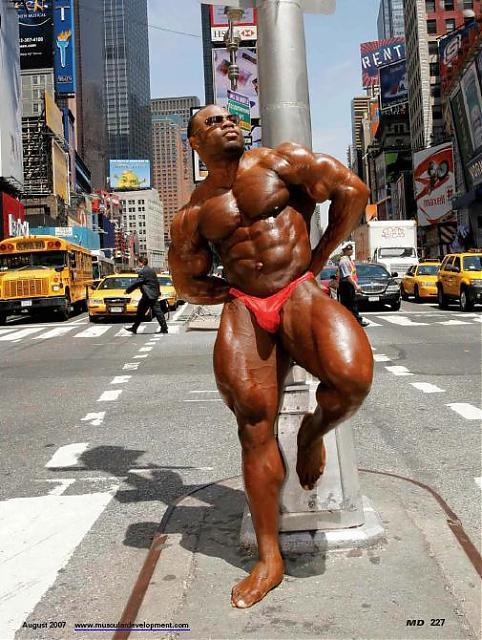 Kai Greene Photoshoot