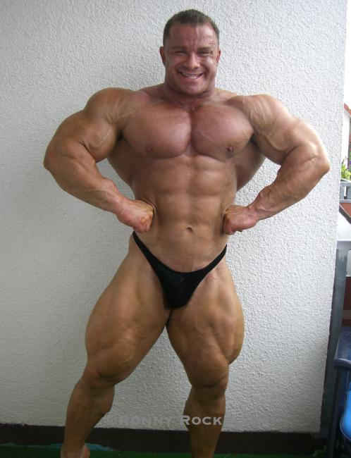 RONNY ROCKEL 6 WEEKS OUT OLYMPIA 2008