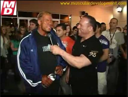 Dennis Wolf After Placing 4th at the 2008 Mr Olympia Interview