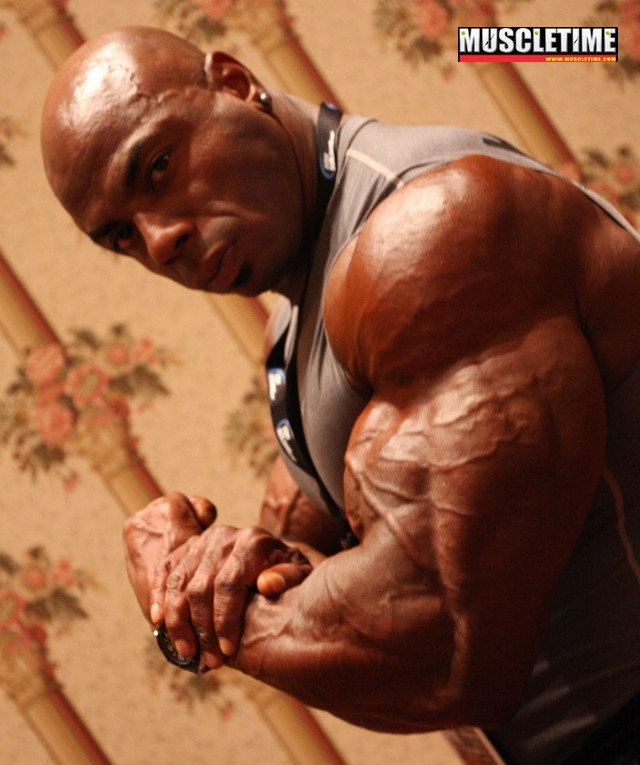 2008 Mr. Olympia - Behind the scenes