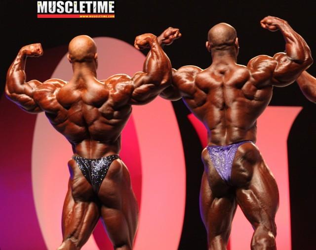 2009 Mr. Olympia - Dexter, you must be carefull