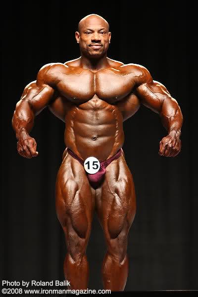Dexter Jackson is Mr.Olympia