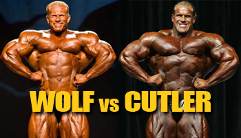 OLYMPIA DREAM MATCHUP: WOLF VS CUTLER