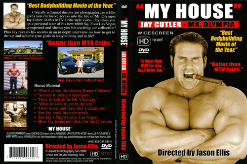 NEW JAY CUTLER DVD - MY HOUSE   (SEPT 22)  2008!!