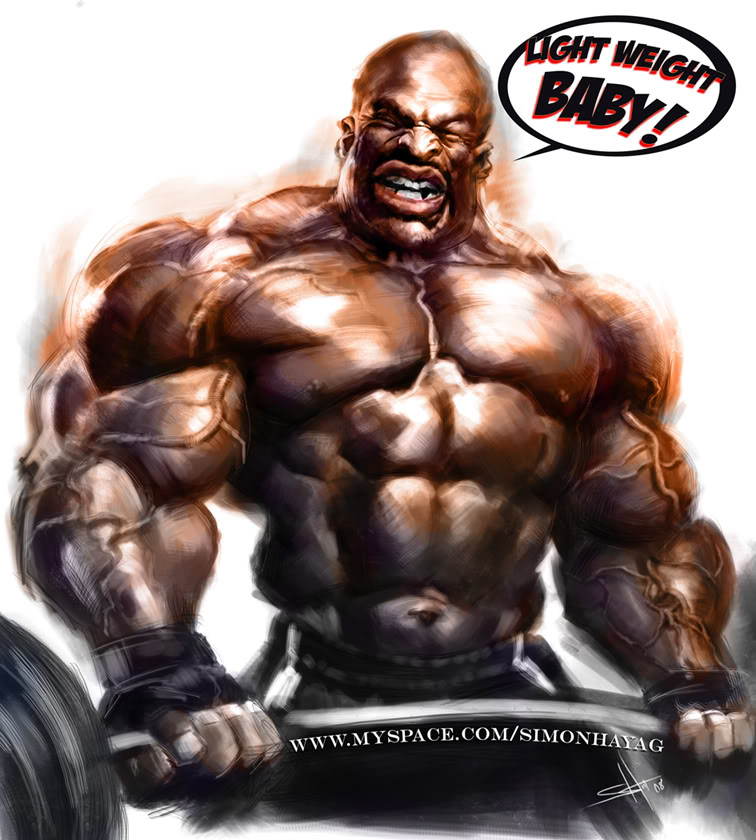 How was the O without Ronnie Coleman?