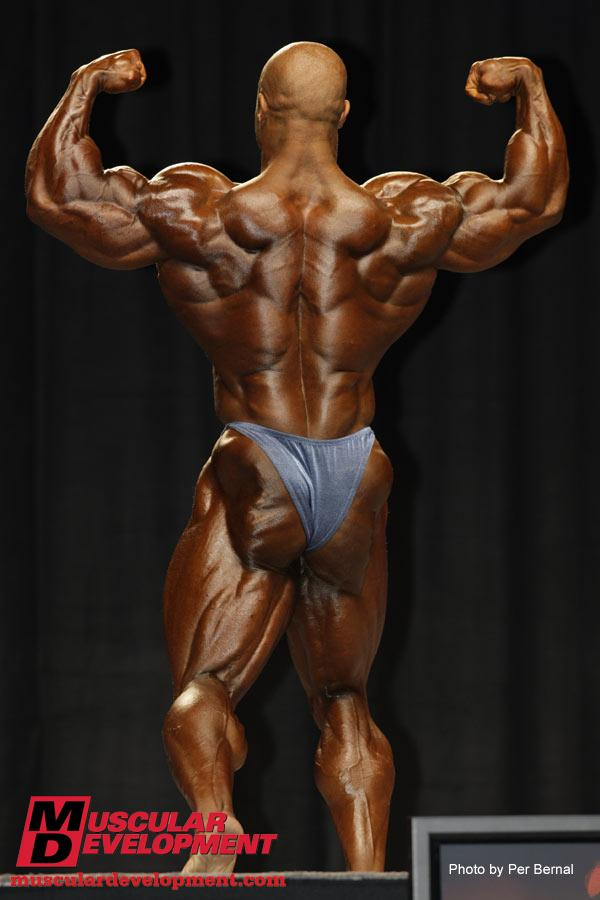 DEXTER JACKSON ABOUT HIS PREPARATION FOR THE 2009 OLYMPIA