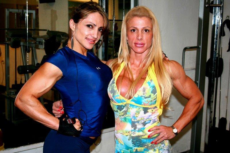Anne Luise Freitas - HOT female bodybuilder (female)