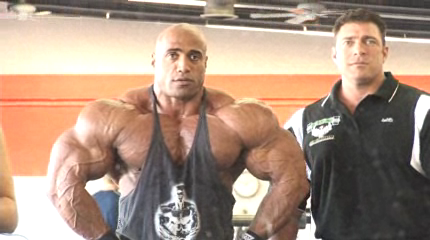 DENNIS JAMES SEEMS HUGE AGAIN !!!