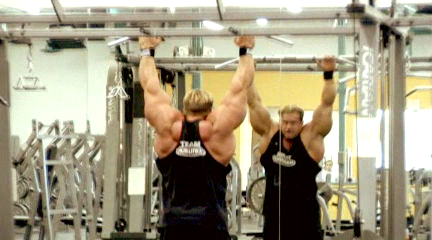 PICS OF CUTLER'S VIDEO 9 WEEKS OUT!