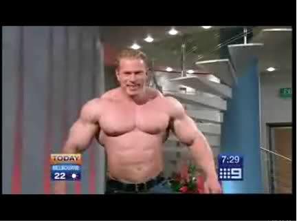 Dennis Wolf on australian tv