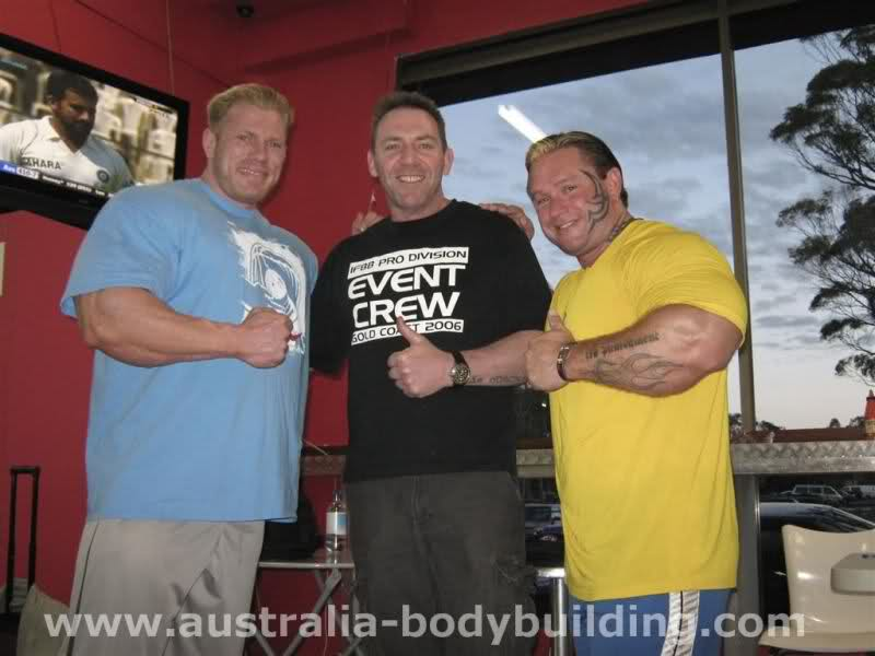 Dennis Wolf latest pics from Australia