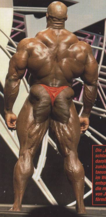 Ronny Rockel 1 day after the 2008 Mr Olympia