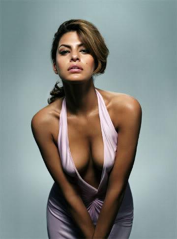 Eva Mendes Nipple Slip