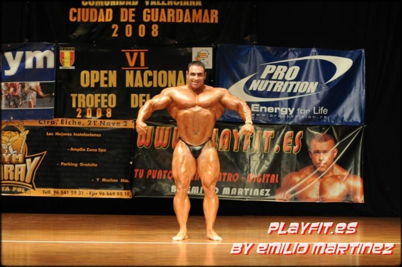CHACON GUEST Posing LAST WEEK : WITH 128 KGS