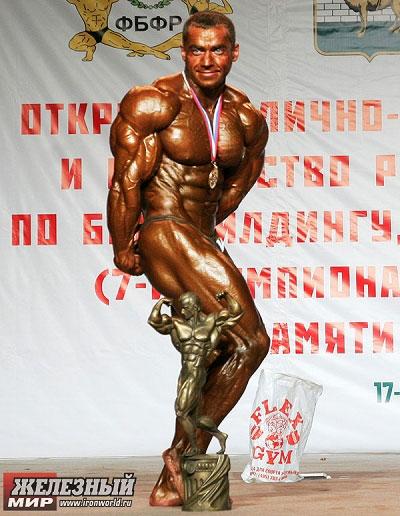 ALEXANDER KODZOEV  OVERALL NATIONAL CHAMPION RUSSIA 2008