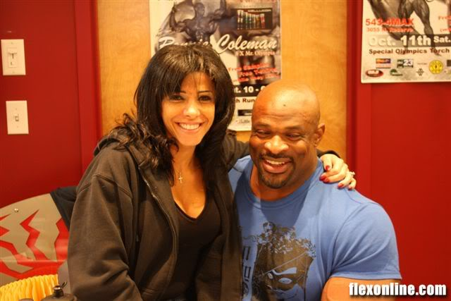 Ronnie Coleman in Montana - October 11 - Max Muscle
