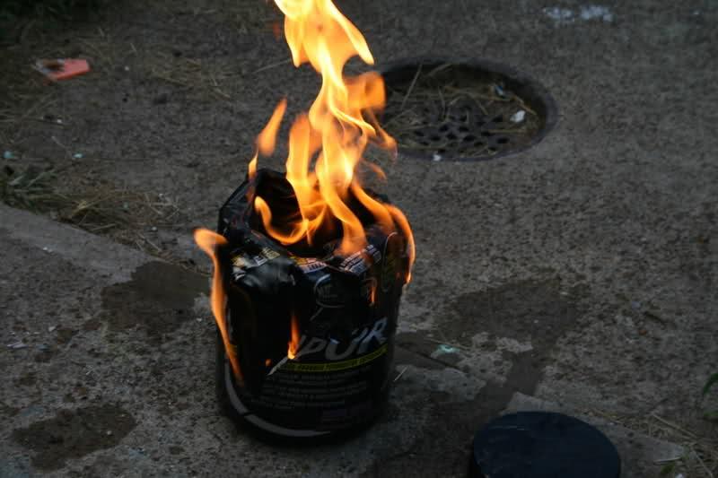 naNO Vapor Warning- Do not Shake, explosive