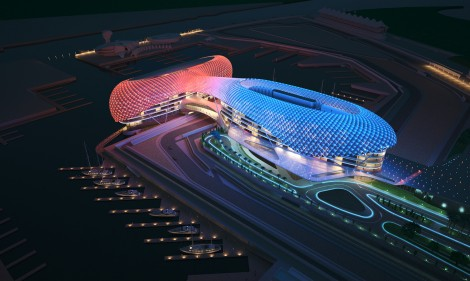 Abu Dhabi Grand Prix launch pictures