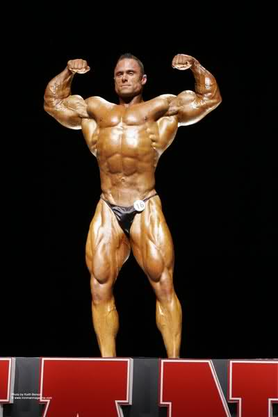 Frank McGrath(2007 Ironman pro) Vs Erik Frankhouser(Europa Supershow 2008)