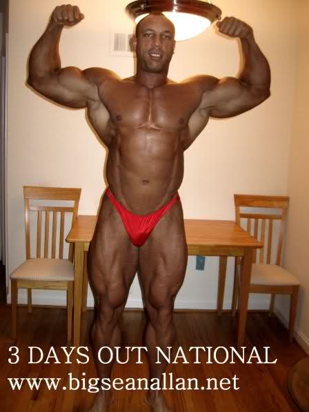 Sean Allen 3 days out from Nationals