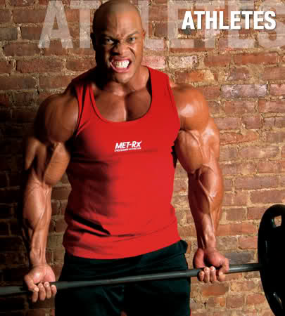 Phil Heath old training vids - techniques and tips