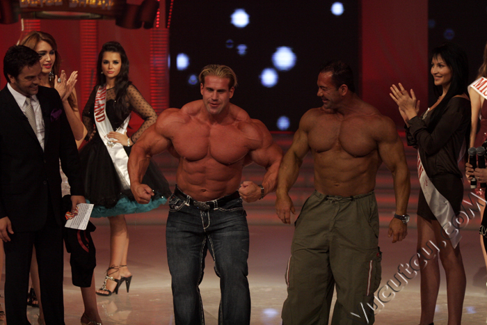 Jay Cutler Turkey Live TV Show Pictures