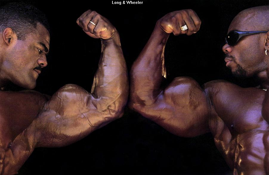 OLD PICS - FLEX WHEELER TRAINING WITH DON LONG