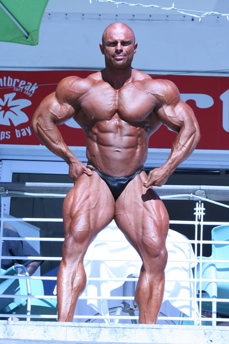 Marius Dohne Up & Coming BodyBuilder from Africa