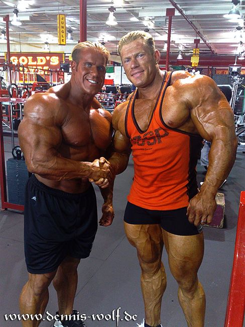 DENNIS WOLF, JAY CUTLER AND LEE PRIEST - NEW PICS FROM DENNIS-WOLF.DE