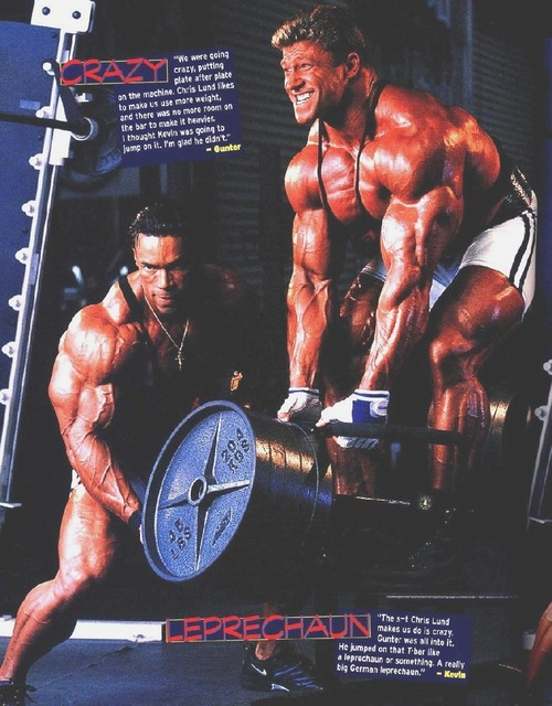OLD SCANS - LEVRONE AND SCHLIERKAMP TRAINING TOGETHER
