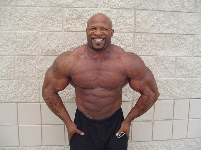 Marcus Haley 10 weeks out - 261 Pounds
