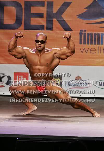 Victor Martinez Recent Guestposing from Fitparade Hungary