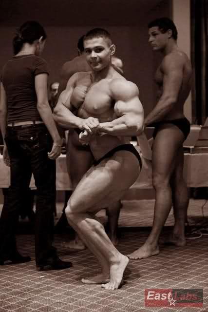 Aleksei Lesukov at Junior and Masters IFBB World Championship 2008(28/11)