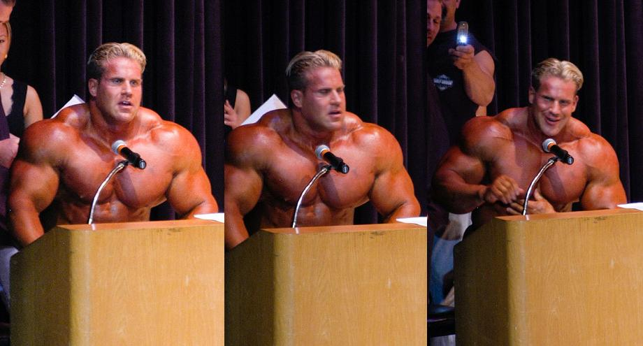 JAY CUTLER AND EVAN CENTOPANI GUEST POSING AT 2008 NPC JAY CUTLER - MAY 4TH