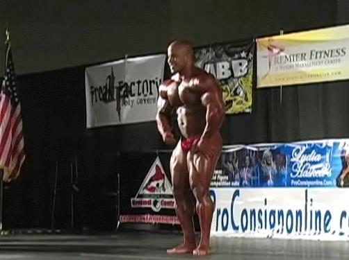 VICTOR MARTINEZ GUEST POSING - October 18th, 2008 - WITHOUT PHIL HEATH