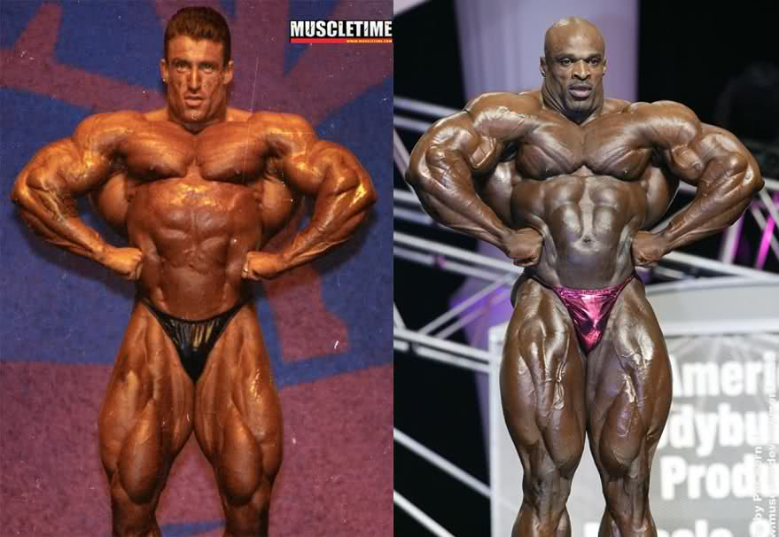 Dorian Yates 1993 vs. Ronnie Coleman 2003 - Mr. Olympia