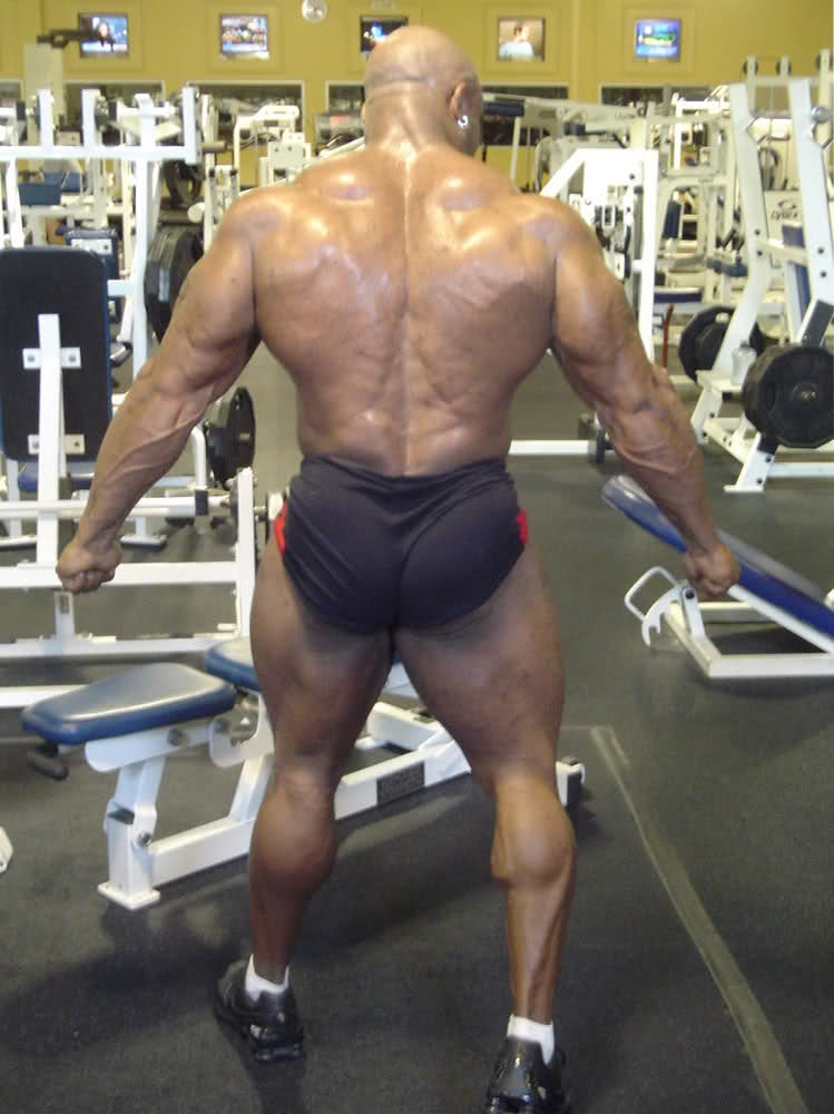 Marcus Haley 7 weeks out IronMan pro 09