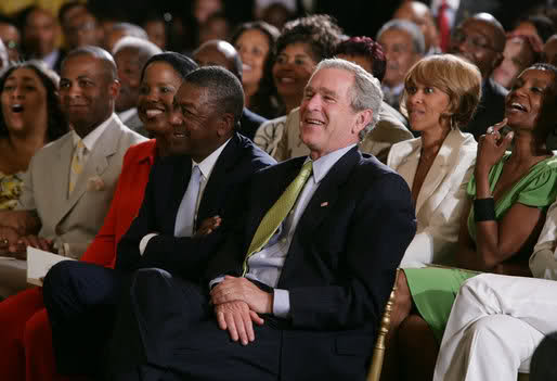 George Bush Proves Kanye West....wrong?