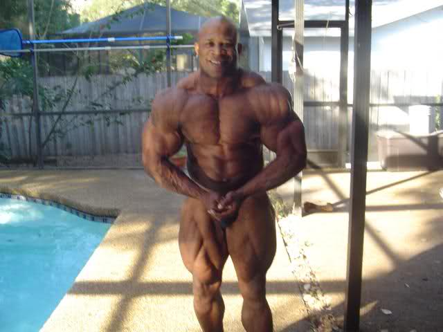 Marcus Haley 4,5 weeks out of Ironman 250lbs
