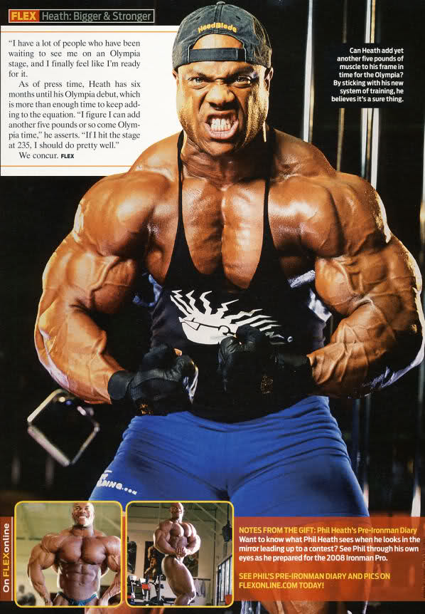 Phil Heath - bigger and stronger