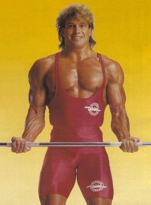 LUIZ OT�VIO DE FREITAS -THE ONLY BRAZILIAN WHO HAVE EVER COMPETED ON A OLYMPIA STAGE