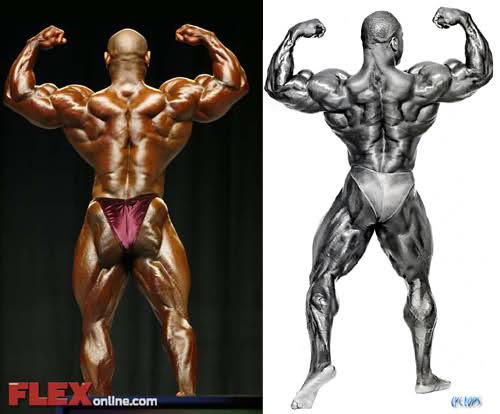 Dexter Jackson vs Chris Cormier