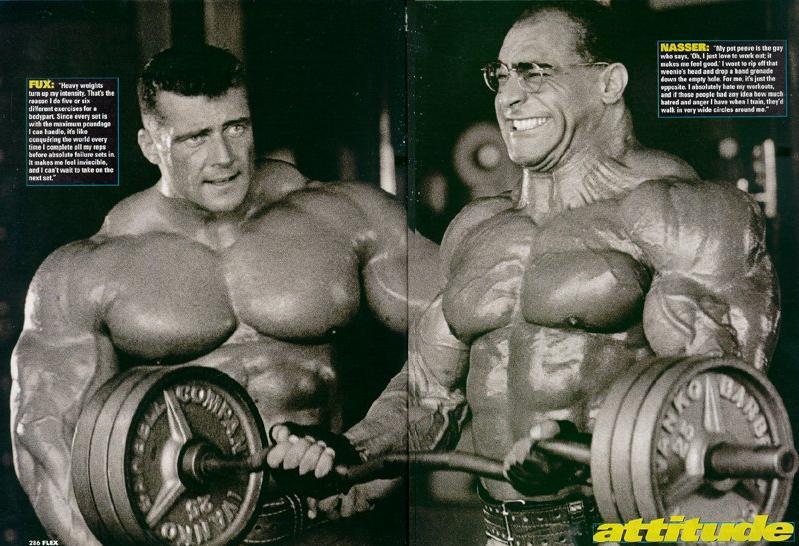 OLD SCANS - NASSER EL SONBATY & JEAN PIERRE FUX PHOTOSHOOT