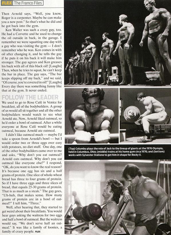 The Franco Columbu Files