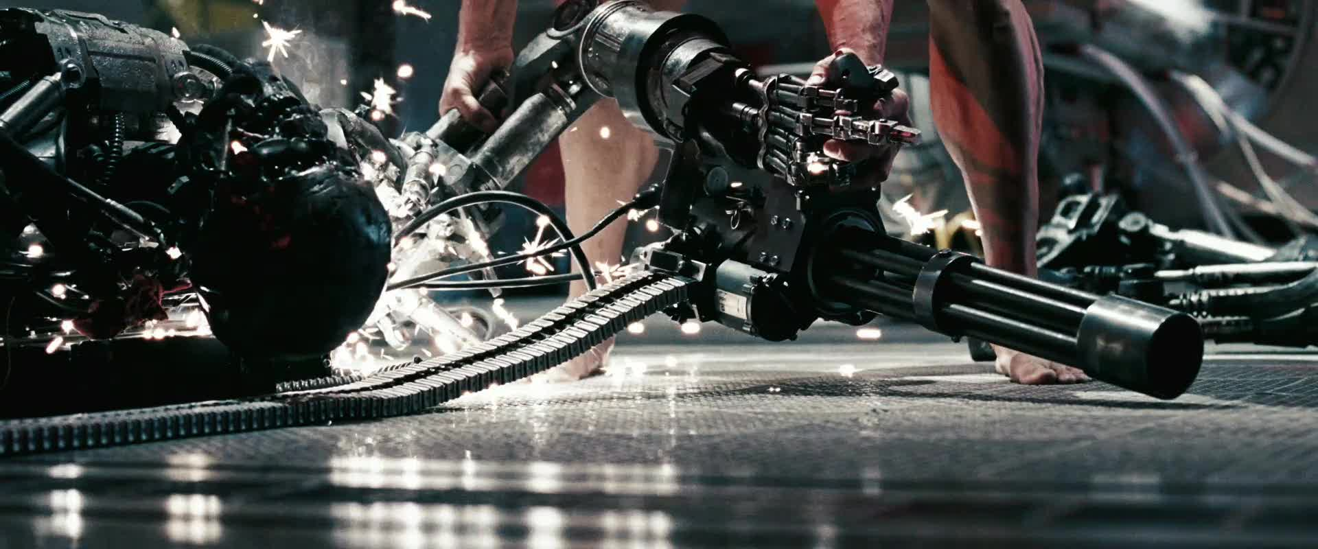 Terminator Salvation trailer on ET