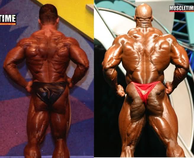 Dorian Yates 1993 vs. Ronnie Coleman 2003 - Mr. Olympia
