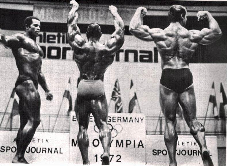 1972 Mr Olympia Arnold 3x Mr O
